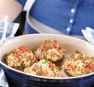 Tuscan tuna mushrooms