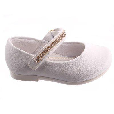 7426a0e88 Sapato Batizado Novo Strass Menina Branco Pampili - Tam 18 - R  69 ...