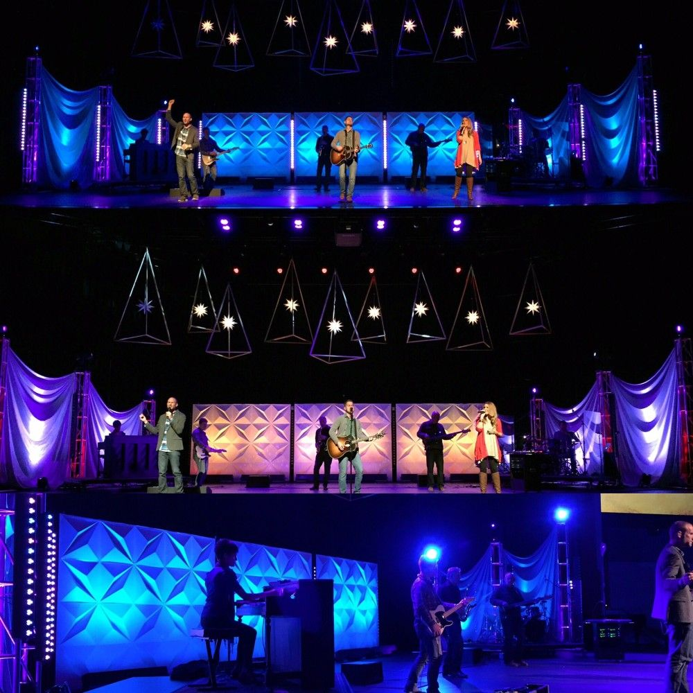 Geometrees From Woodside Bible Church In Troy, MI | Church Stage Design  Ideas