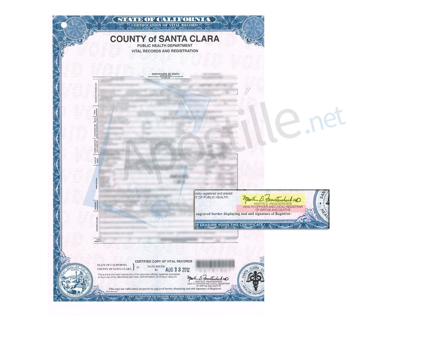 County of santa clara confidential license and certificate of county of santa clara confidential license and certificate of marriage signed by regina alcomendras state of california sample apostille pinterest 1betcityfo Choice Image