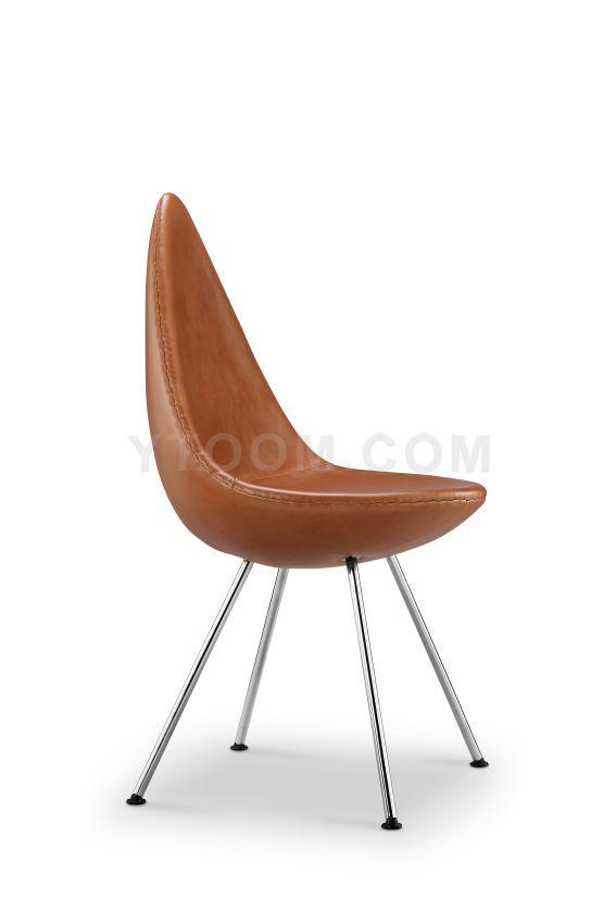 Arne Jacobsen Drop Chair Dining Chair Replica Designer Furniture