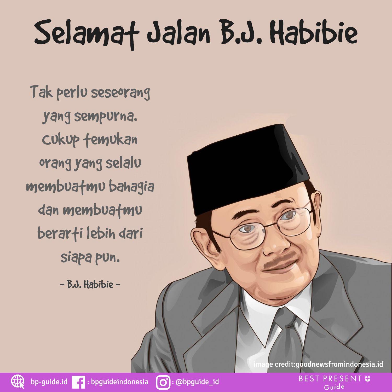 12 B J Habibie Ideas Quotes Indonesia Cinta Quotes Quotes