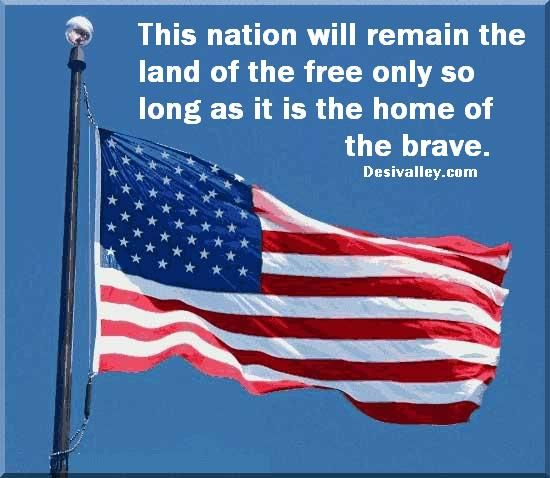 This Nation Will Remain The Land Of The Free Only So Long As It Is