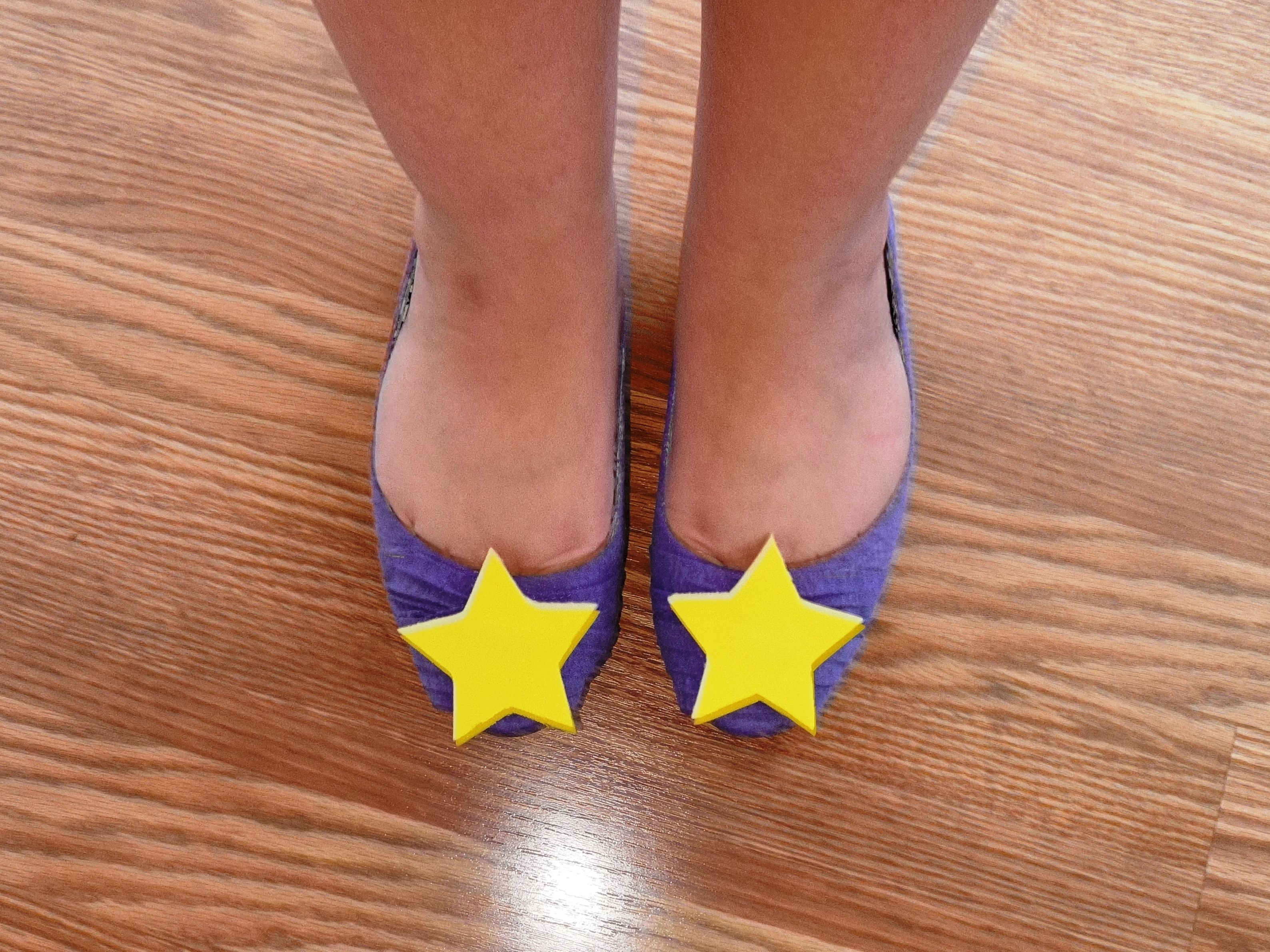 DIY Lumpy Space Princess Flats - LSP Adventure Time Cosplay Halloween Costume