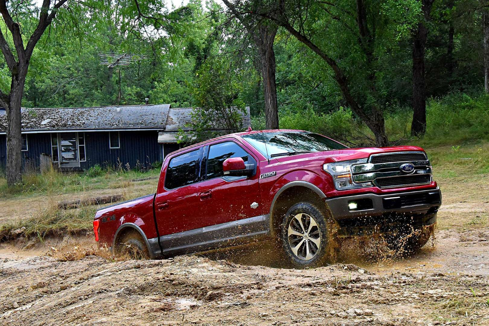 008 2018 Ford F150 First Drive Jpg Courtesy Of Ford Ford F150 2018 Ford F150 Ford