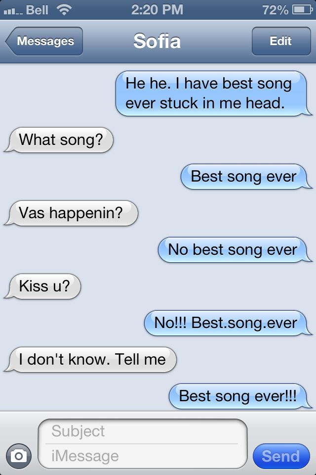 So it begins. One direction 'Best Song Ever' confusion. It really is the best song ever!!!
