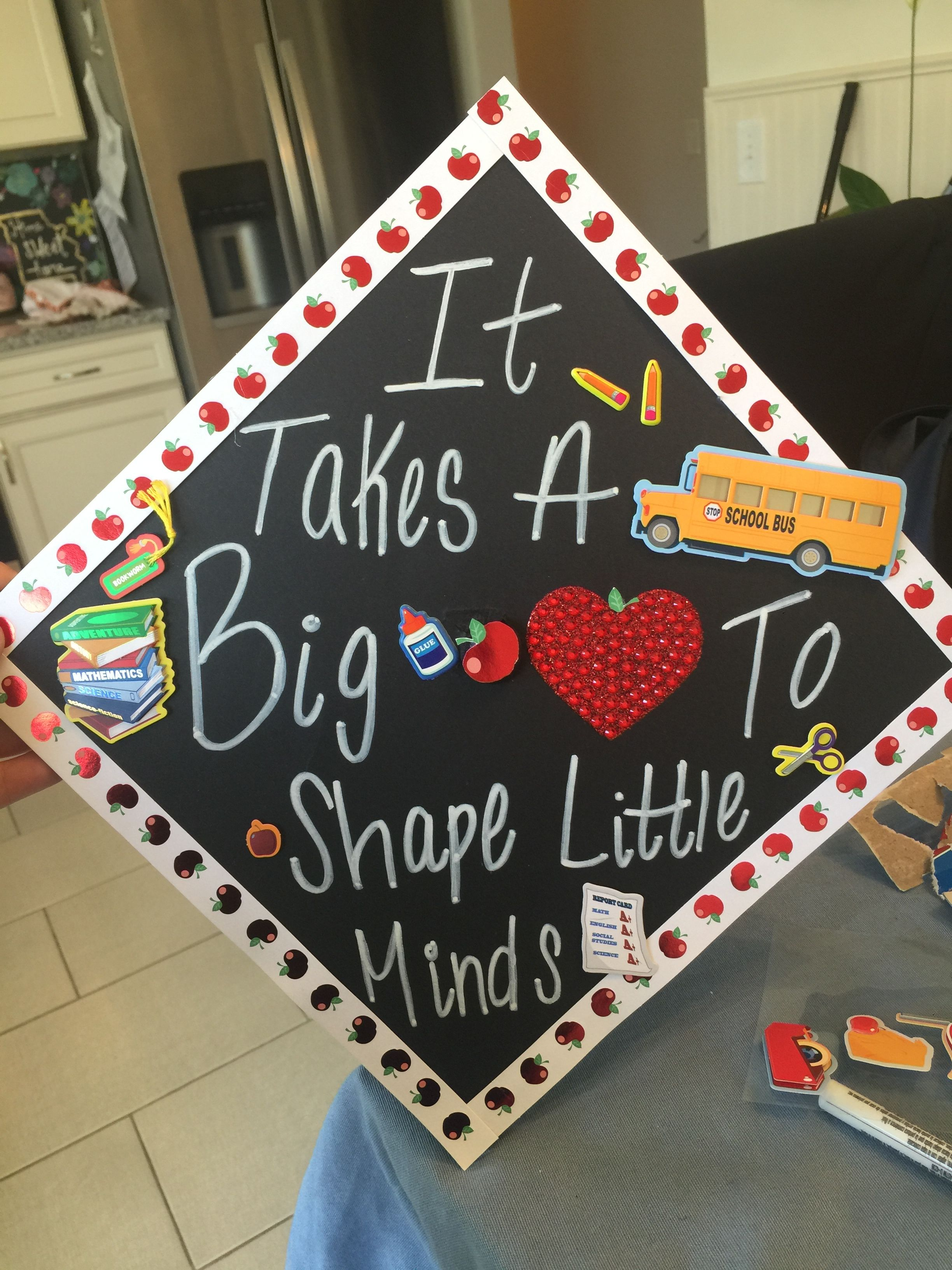 Teacher Grad Cap Grad Cap Teacher Graduation Cap