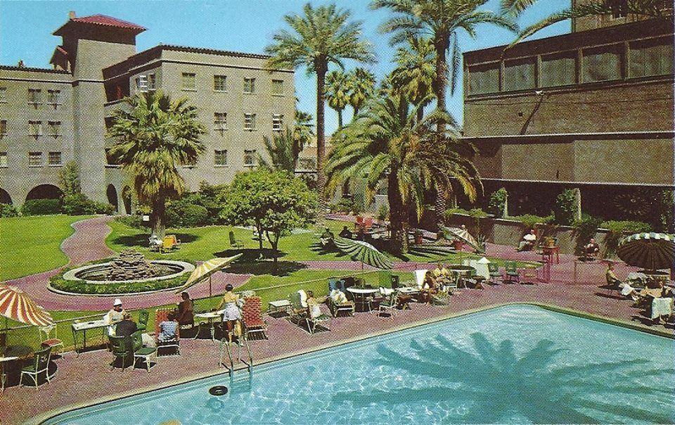 Westward Ho Resort In The 1950 S Arizona Resorts Hotels And Resorts Arizona