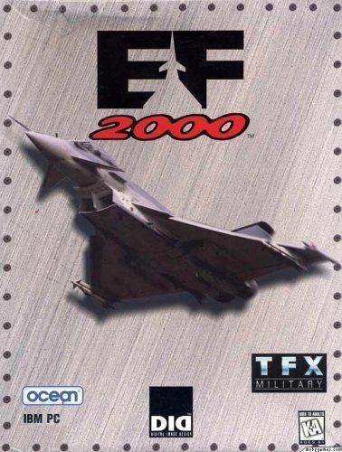 EF2000 is a combat flight simulator video game released in 1995 for the PC DOS. It is the sequel to Digital Image Design's earlier software title, TFX. Gameplay consists of quick combat, simulator (free flight mode), training, multiplayer and campaign mode. The game featured a dynamic campaign that simulating a campaign set in northern Europe. Missions require the player to evade ground-based and airborne defenses. Mid-air refueling is included.