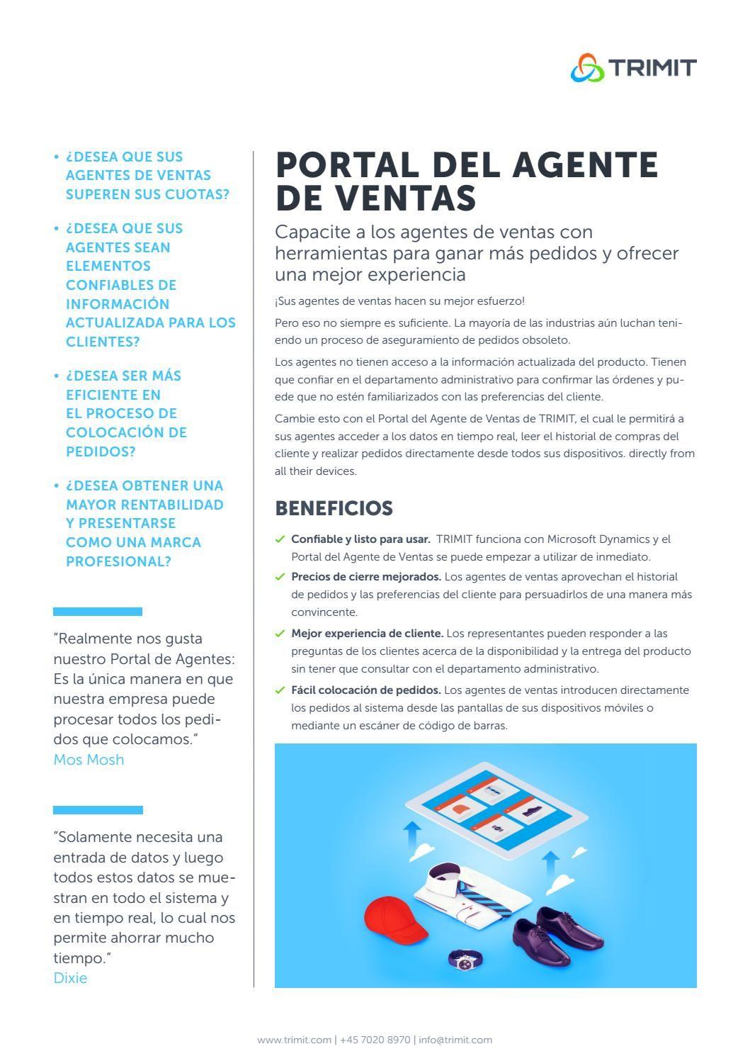 b4a2e30dc7 TRIMIT Portal Del Agente De Ventas  TRIMIT  MSDynNAV  ERP