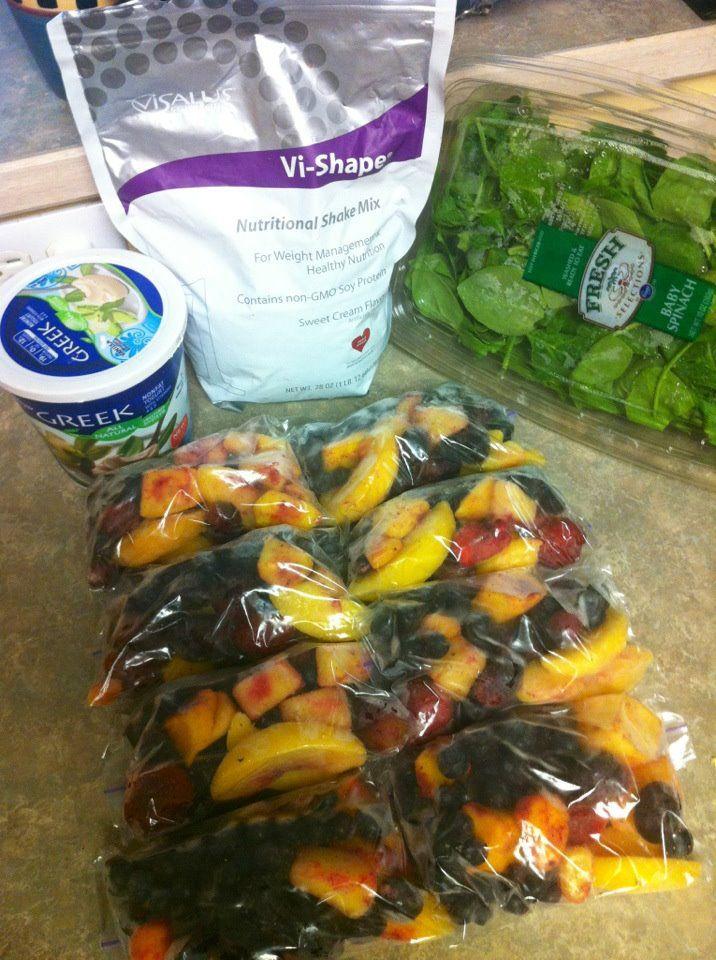 Make-ahead smoothie packs
