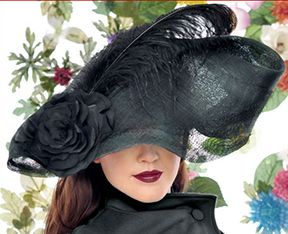 Black Hat by Jasmin Zorlu via www.thewomenseye.com #hats #design