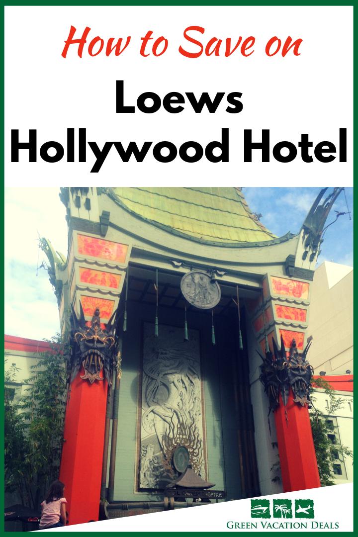 Save On Loew S Hollywood Hotel Travel Pinterest Travel