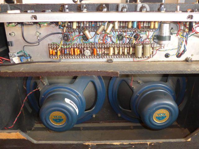 [SCHEMATICS_4ER]  An all original 1962 Vox AC30 including the Alnico Blue speakers, Fitted  with Mullard valves.   Vox amp, Vintage guitar amps, Valve amplifier   Vox Ac30 Wiring      www.pinterest.co.kr