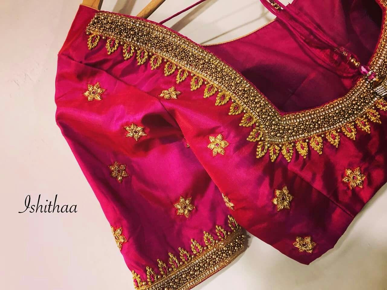14f88caec06f35 Kalyana blouse | Kalyana blouse | Blouse designs, Saree blouse ...