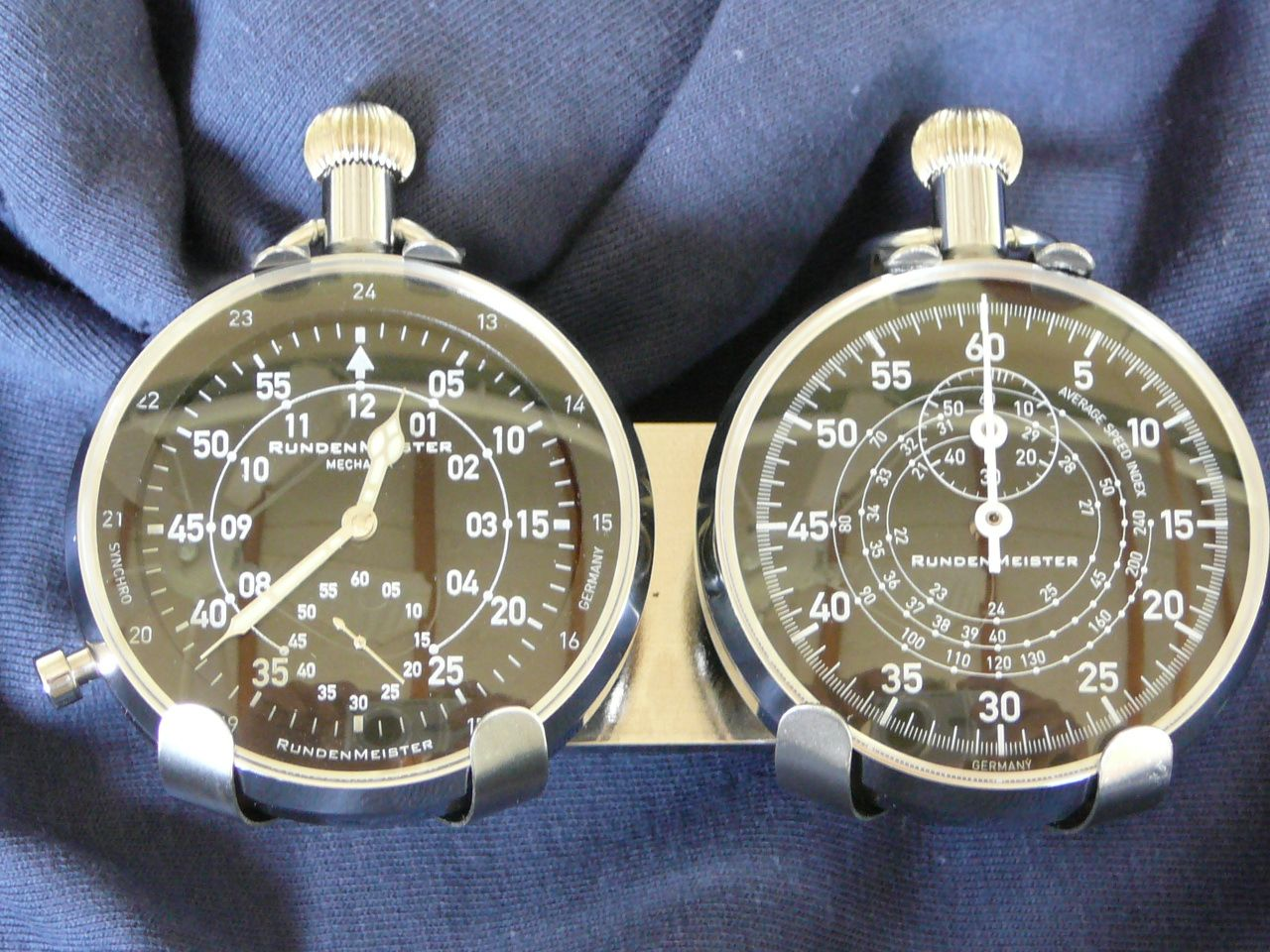 Rallye Watch Set As Clip Ons One Stopwatch One Cockpit