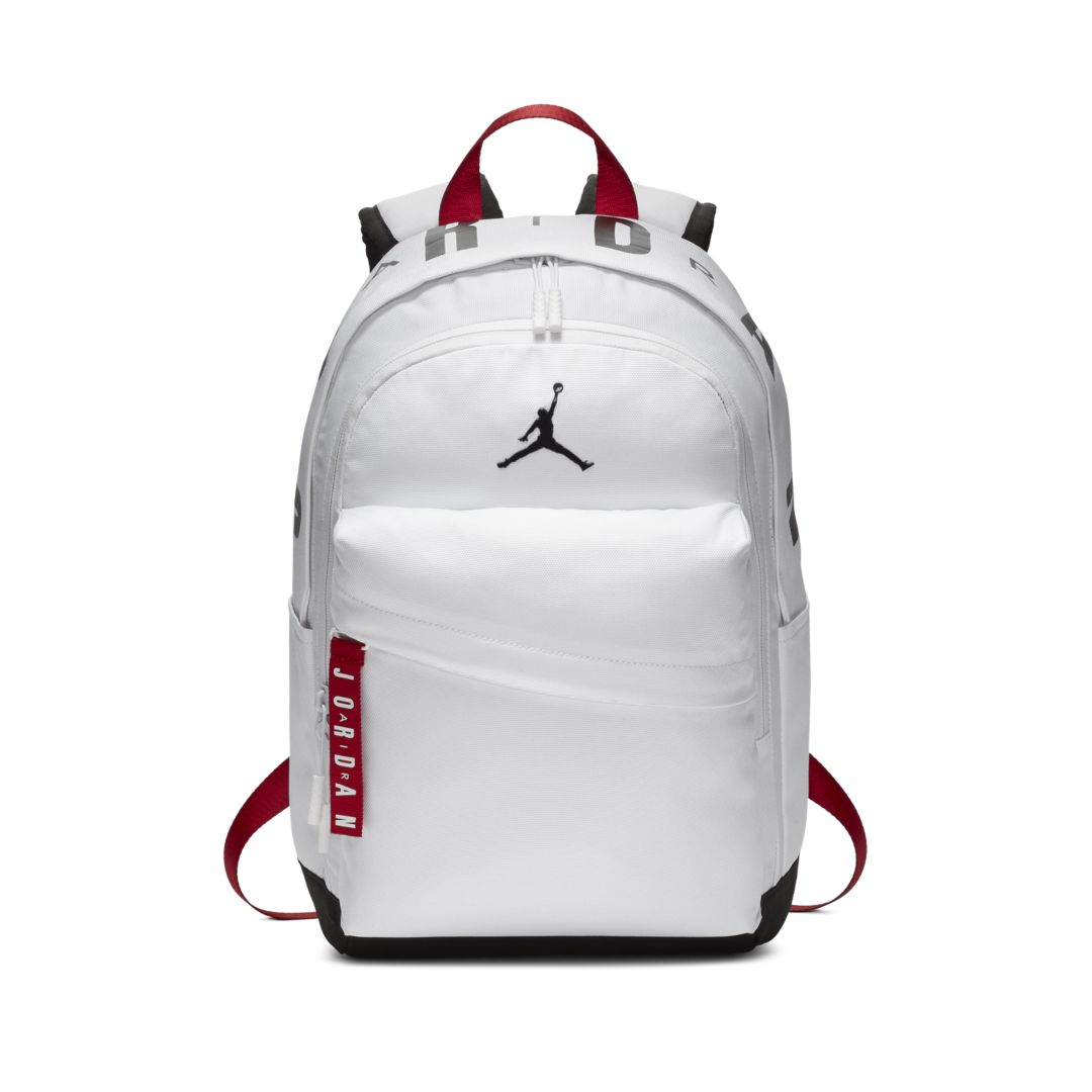 001132e00375ea Jordan Air Patrol Kids  Backpack Size ONE SIZE (White) in 2019 ...