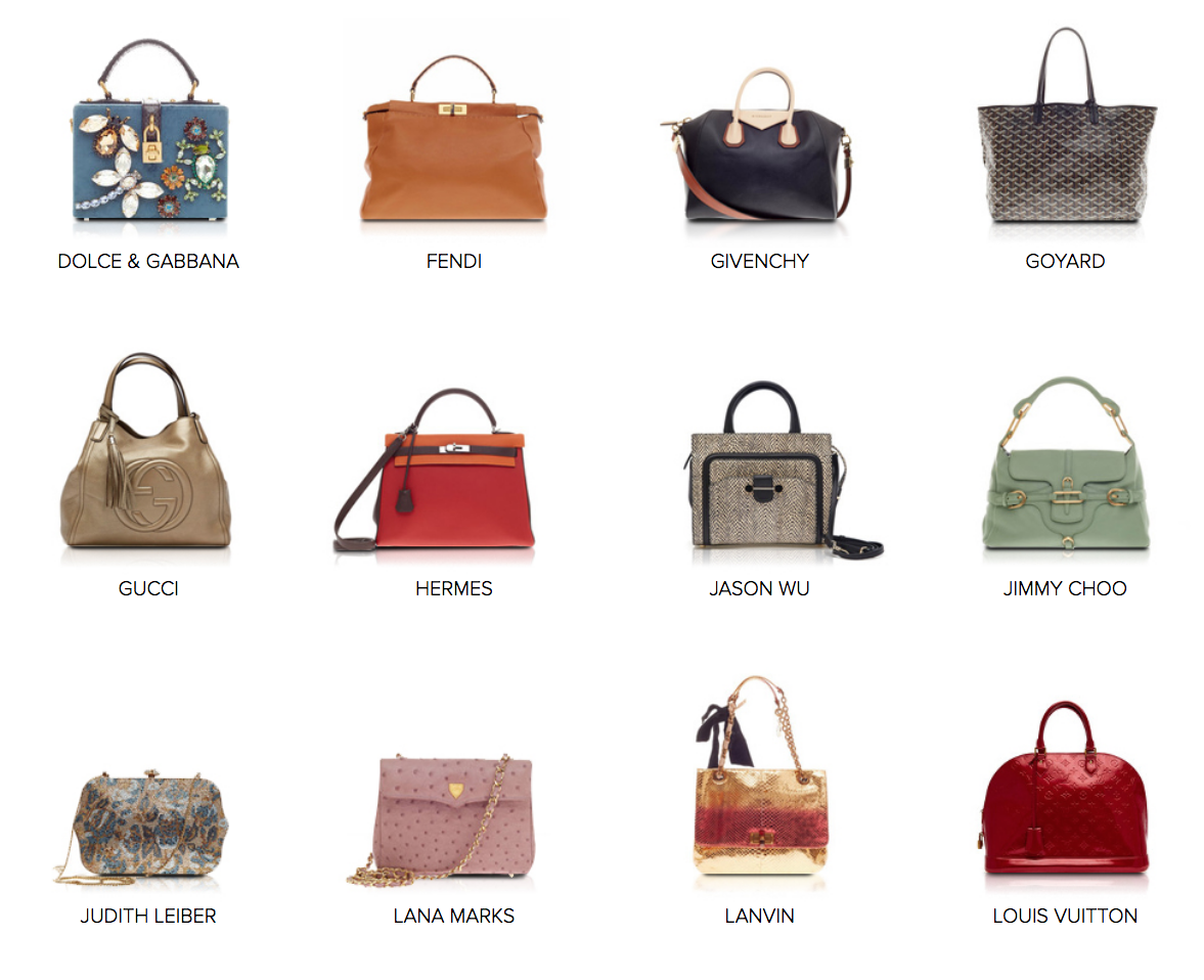 List Of Luxury Bags Brands