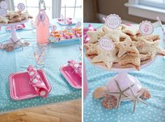 kindergeburtstag m dchen mottoparty meerjungfrau geburtstagsfeier ideen pinterest. Black Bedroom Furniture Sets. Home Design Ideas