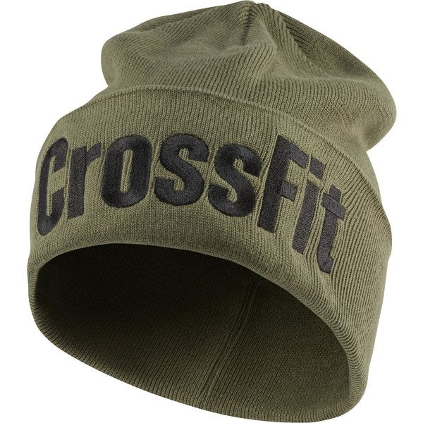 353771d6e42 Reebok CrossFit Unisex Graphic Beanie ( 15) ❤ liked on Polyvore featuring  accessories