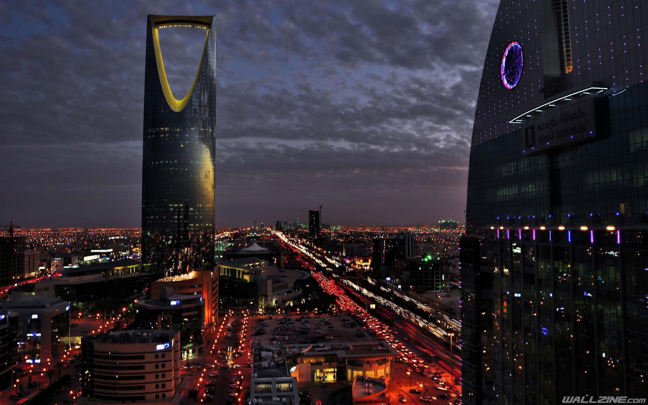 Kingdom Tower Saudi Arabia Hd Desktop Wallpaper Wallzine Com Riyadh Saudi Arabia Riyadh Saudi Arabia
