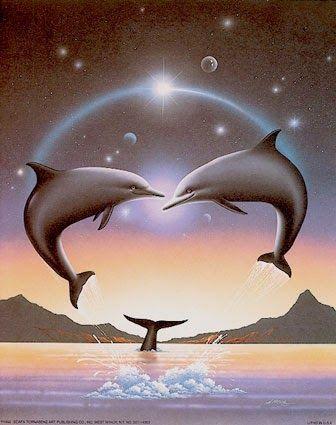 Delfines - Imagenes: Imagen de fantasia de delfines   [17-4-17]