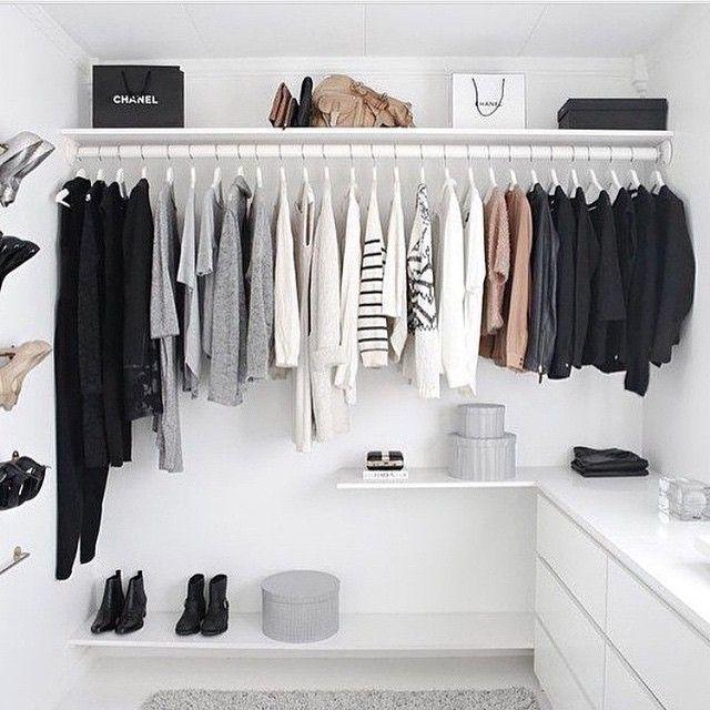 Closet goals tumblr tumblrroom follow requests tagforlikes room bedrooms - Small closet space minimalist ...