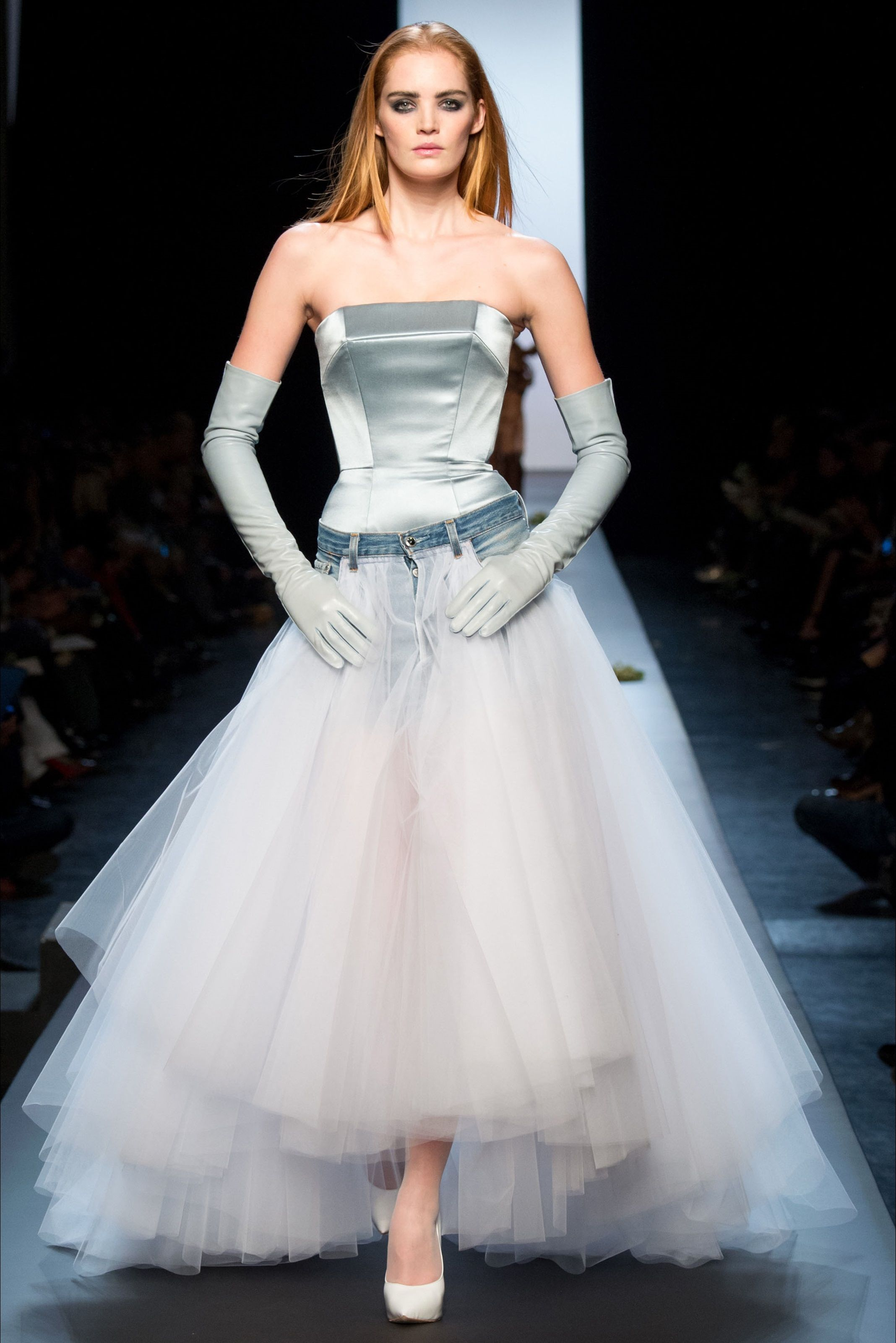 Jean Paul Gaultier - Haute Couture Spring Summer 2015 - Shows - Vogue.it