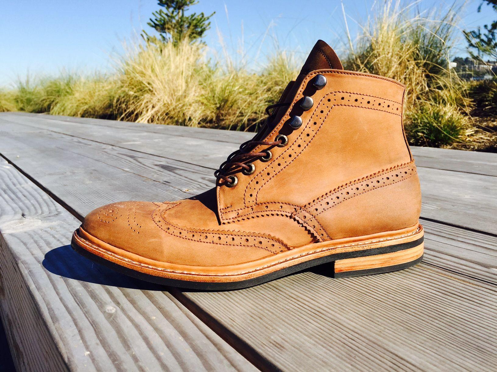 e300172754a Santalum Wingtip Boots | Boot MTO ideas | Boots, Timberland boots ...
