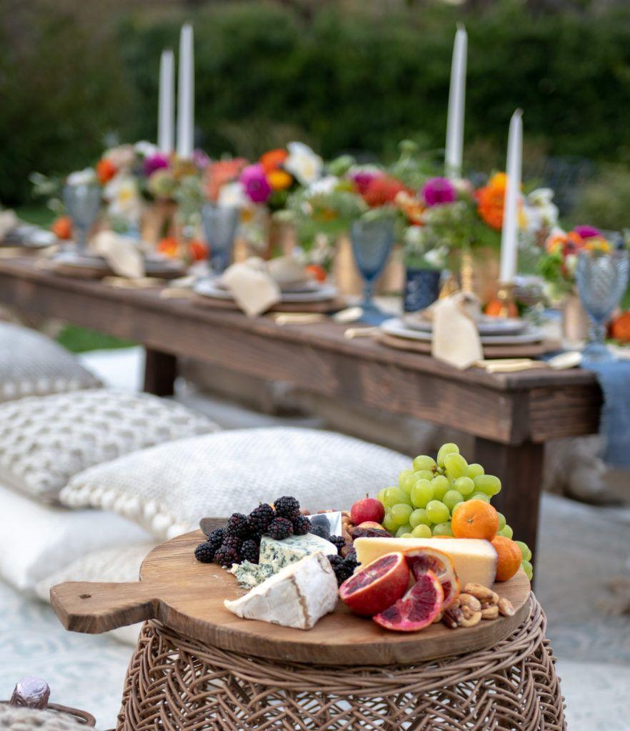 How To Plan A Bohemian Backyard Dinner Party   Backyard ...