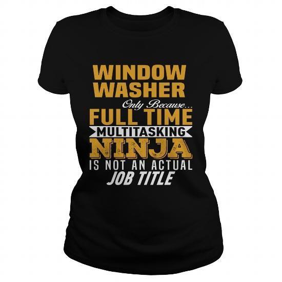Cool Window Washer T-Shirts