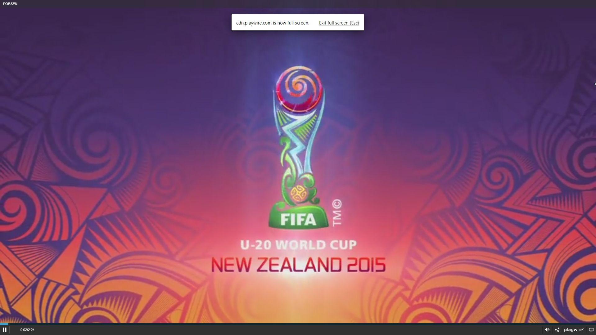 World Cup U20 Mundial Partidos