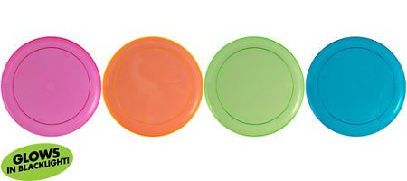 Big Party Pack Black Light Neon Plastic Lunch Plates 24ct  sc 1 st  Pinterest & Big Party Pack Black Light Neon Plastic Lunch Plates 24ct | Glow in ...