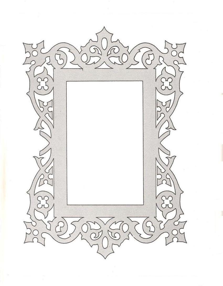 Resim Çerçevesi Motifleri | デザイン | Pinterest | Laubsäge ...