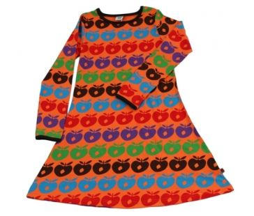 SMAFOLK  Orange Apples Dress  £26.99
