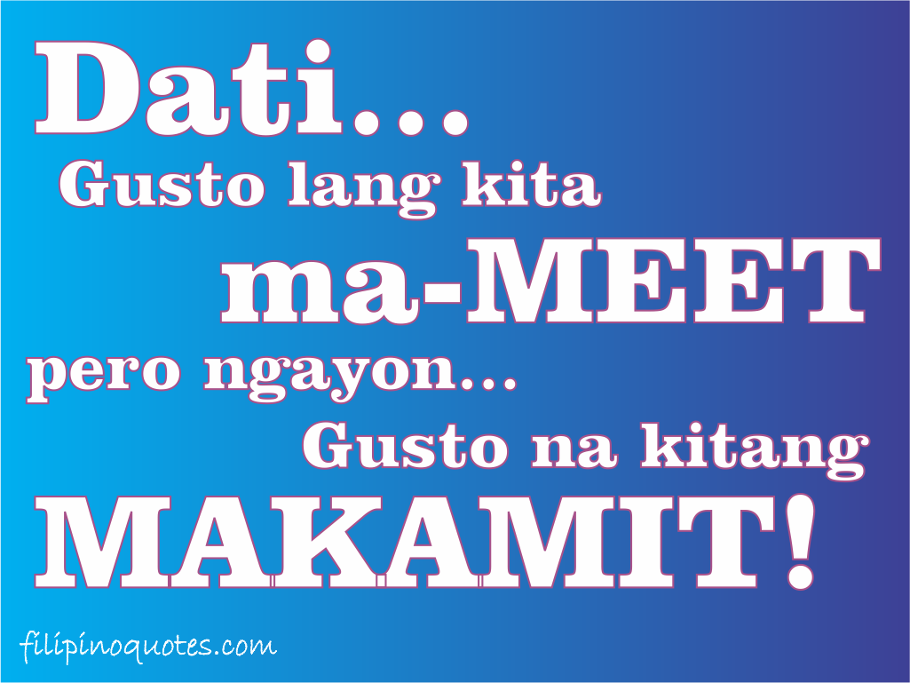 funny tagalog love quotes and sayings X3D3UYwc5