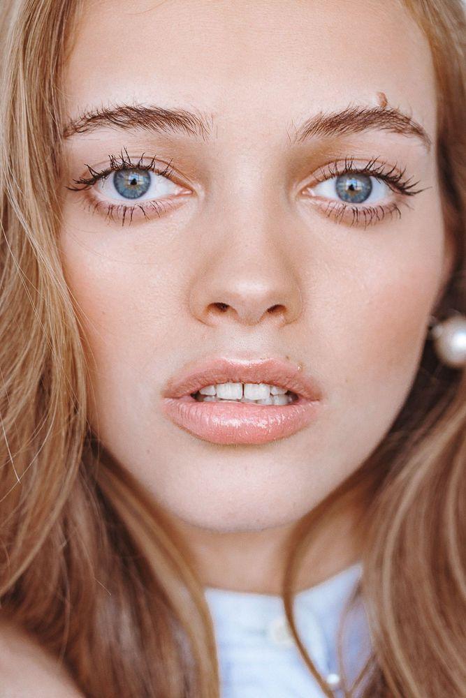 Glossy Lips Matte Skin Natural Hair Mask Glossier Stretch