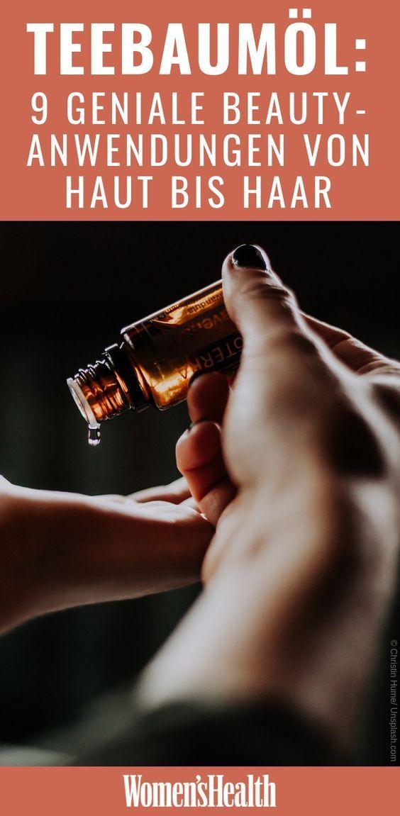 Teebaumol Unreine Haut Gesunde Hautpflege Und Haare Pflegen