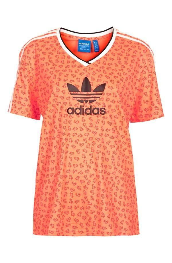 Amore!Topshop X Adidas Originali Football Tee Topshop A Nordstrom