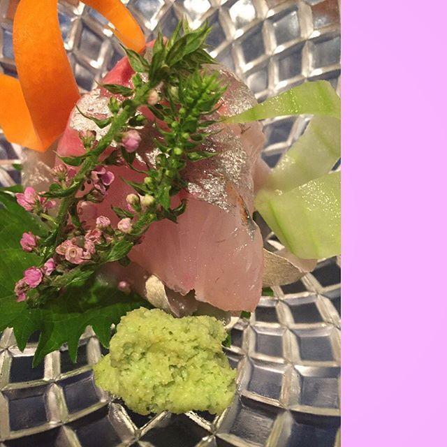 beautiful sashimi at yuzuki (夕月), nakameguro.