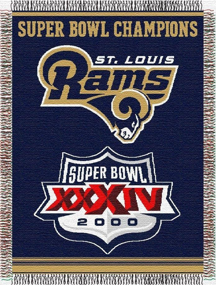 Northwest Co Nfl St Louis Rams Commemorative Tapestry Throw St Louis Rams Nfl Rams Nfl