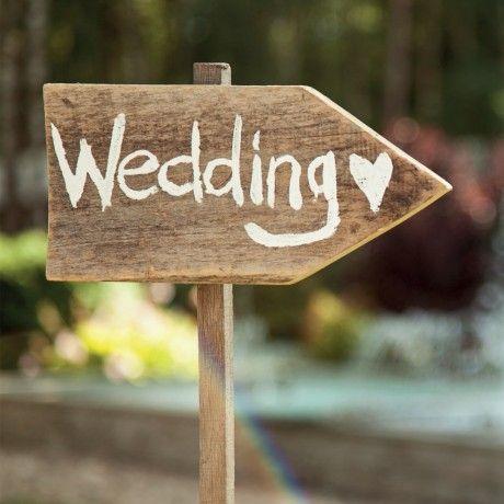 Hochzeitsservietten Wedding this way 33cm x 33cm, 4,20€