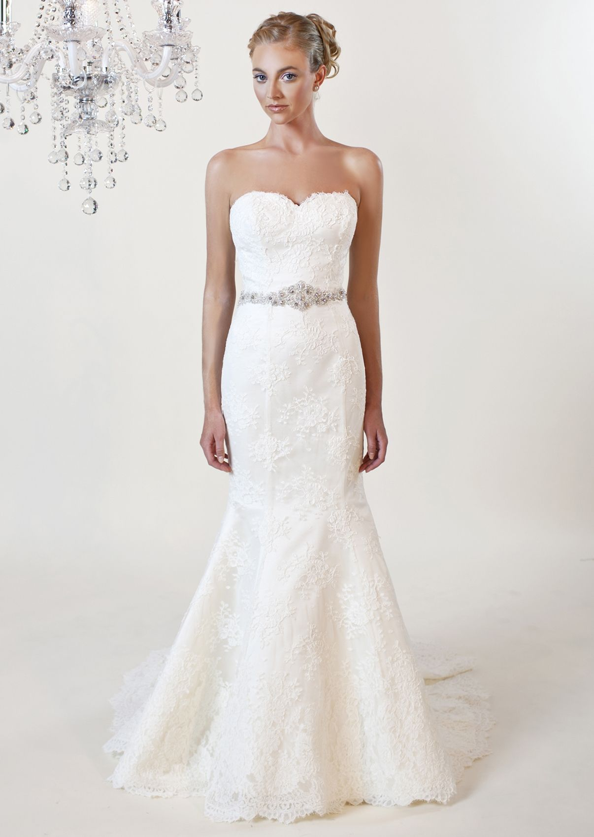 Diamond Label collection features bridal gowns handcrafted