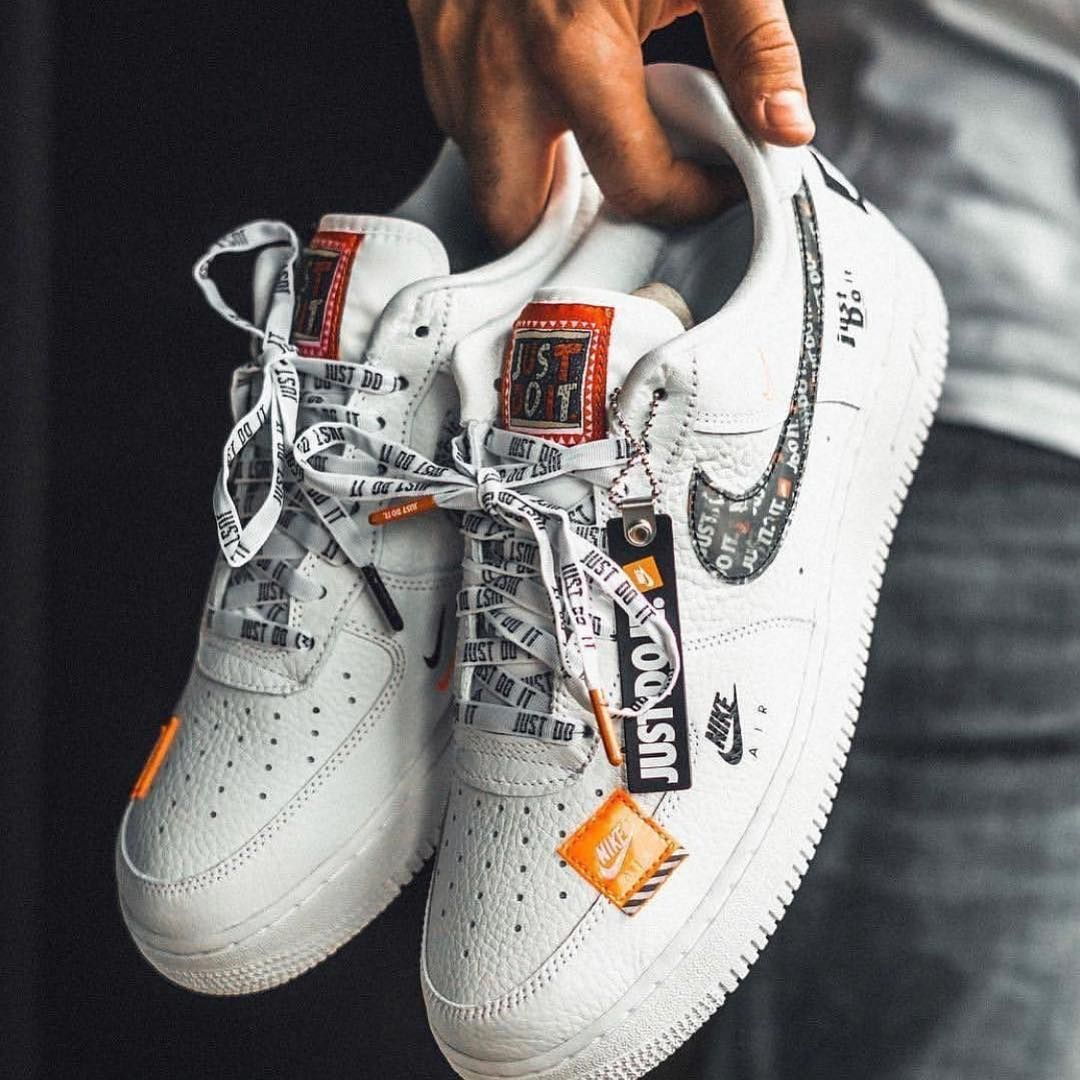 Nike Air Force One Just Do It en 2020 (con imágenes