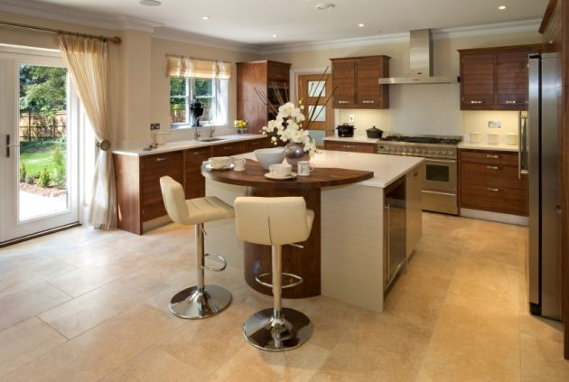 movable kitchen island with breakfast bar - Google Search | Kitchen ...