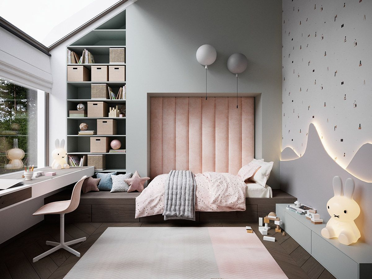 Modern Childrens Bedroom Interior Design Ideas Home Decorating Inspiration Moercar Cozy Bedroom Design Bedroom Interior Luxurious Bedrooms
