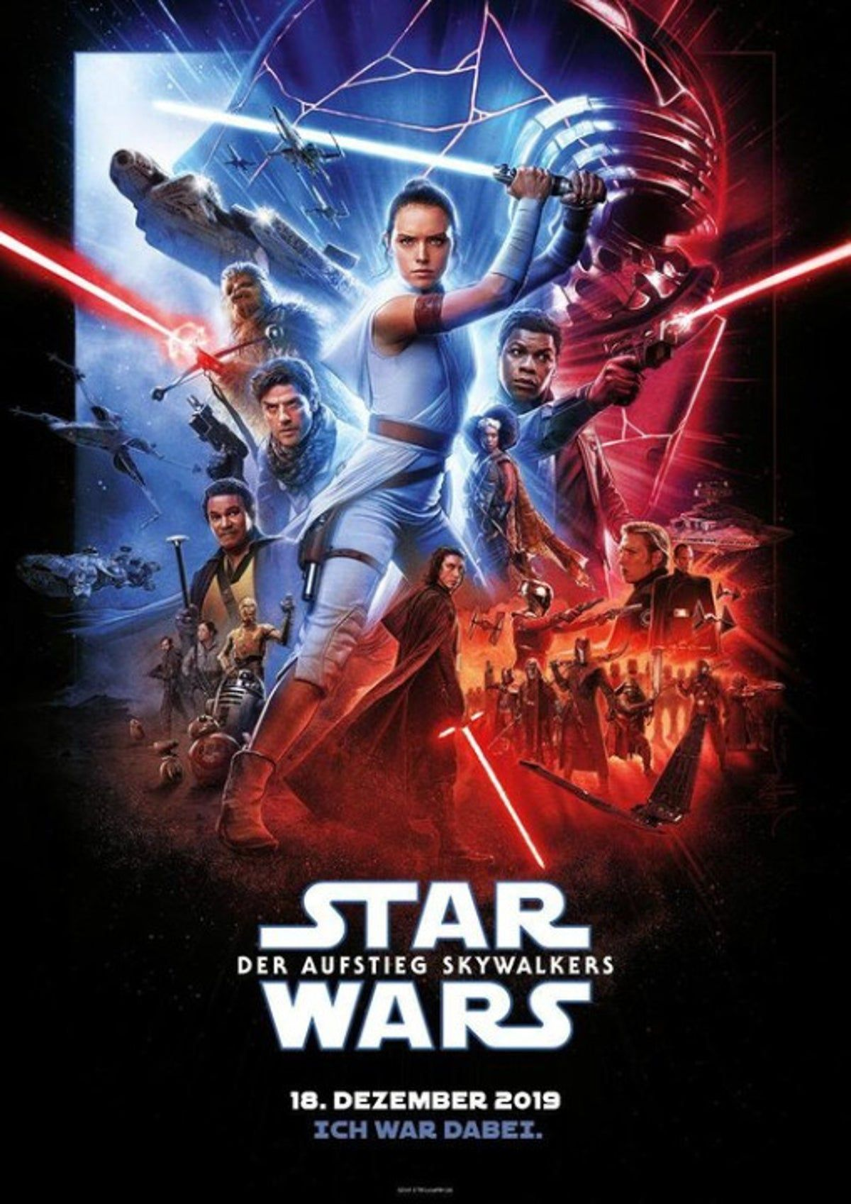 Poster Star Wars The Rise Of Skywalker Star Wars Posteres De