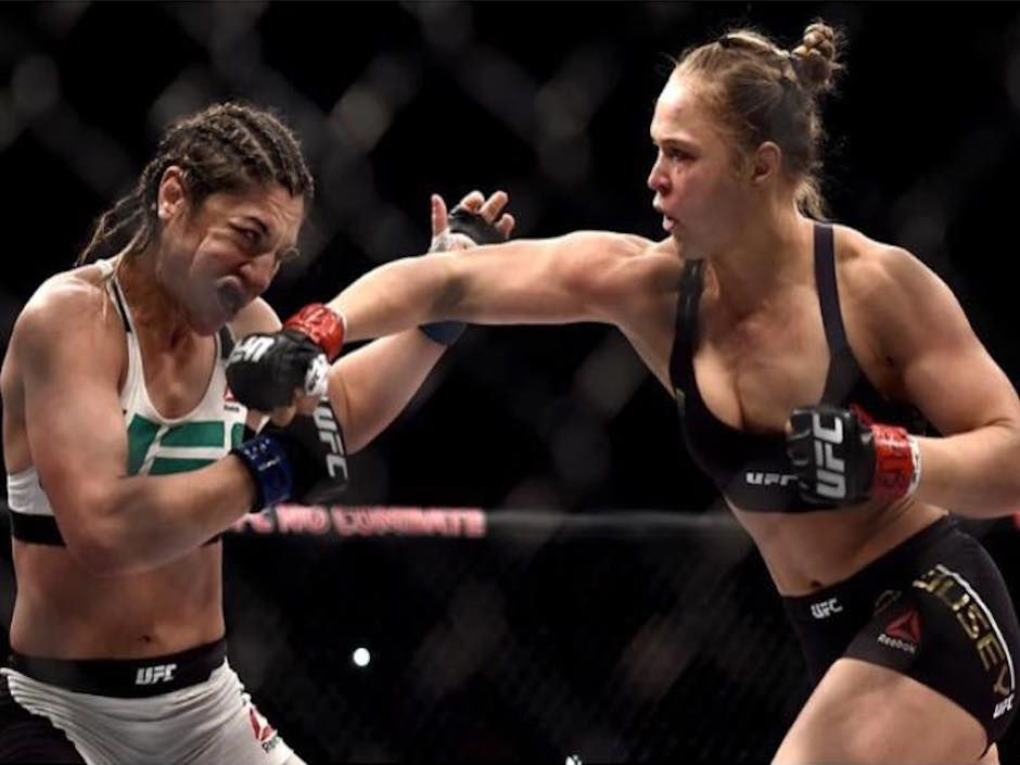 14 Things You Can Learn From Getting Punched In The Face By Ronda Rousey Ambitious Ronda Rousey Ufc Ronda Rousey Ufc Fighters