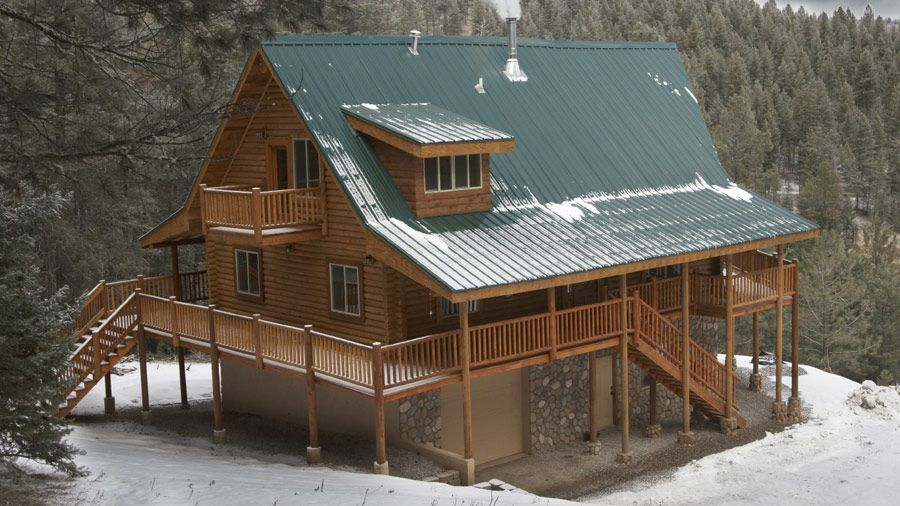 The Larkspur has 2 generous porches for this terrific 1-1/2 story ...