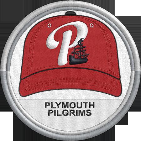 Plymouth Pilgrims Baseball Cap Hat Uniform Sports Logo New England Collegiate Baseball League Minor L Minor League Baseball Baseball League Sports Logo